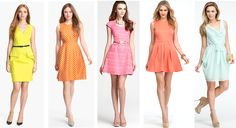 5 Sorbet Colored Dresses Perfect for a Spring First Date