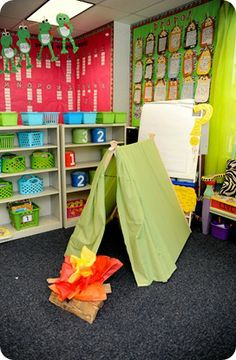 #camping unit ideas: books, activities, crafts, etc.