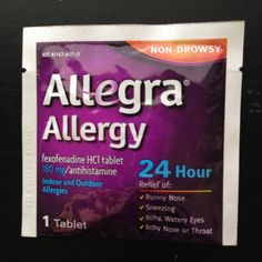 Allegra Allergy samp