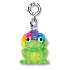 Charmit Rainbow Frog Charm- $5.00