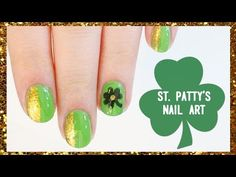 St. Patrick's Day Nail Art + Exciting Giveaway!!!