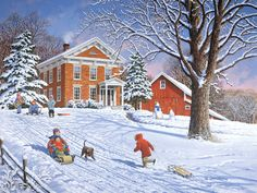 Snow Party  John Sloane