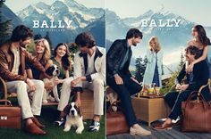 Bally's Spring/Summer 2012 campaign
