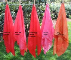 Kid Friendly Dyeing - Making your own Play Silks | Rachael Rabbit