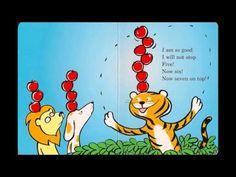 Ten Apples Up On Top top song, ten apples up on top, book, apples kindergarten