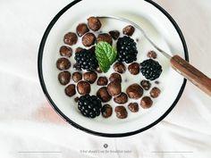 cocoa puff, breakfast today, almonds, vanilla extract, chocol