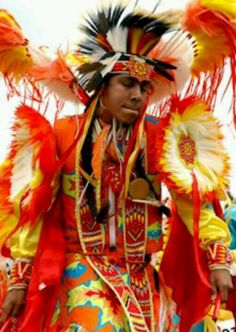 Cherokee Indian dancer