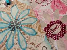 Mixed Media Tags  Scrapbooking Journaling Gifting by PaperPastiche
