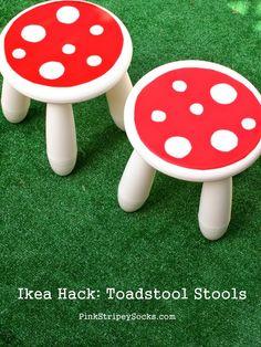 DIY Toadstool Stool (Ikea Hack!)