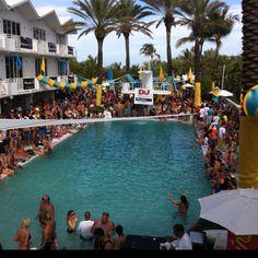 Amnesia Ibiza pool party