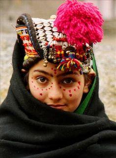 Asia: Kalash girl, Pakistan