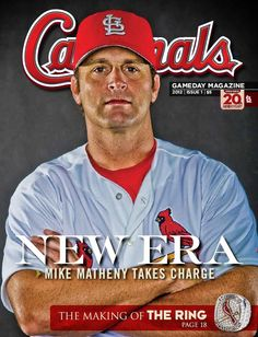"""The new issue of Cardinals Magazine - on-sale now - is packed with the making of the Championship ring, a Q with Mike Matheny, and the debut of"""" Puma's Pad,"""" a journal series by Lance Berkman! Get yours today online or at the ballpark! http://atmlb.com/HK0YdR"""