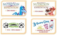 nutrition curriculum for kids