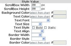 How to make a scrollable box in Blogger