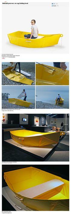 thibault penven: ar-vag folding boat
