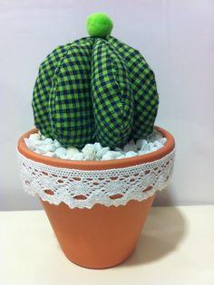 Cactus de tela