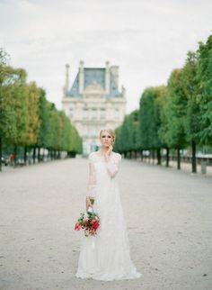 Drooling... Parisian wedding.