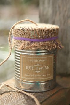 How to make a twine dispenser from a can Terrain copycat project