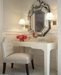Make-up table idea