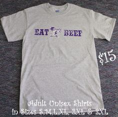 K-State Eat Beef shirts!