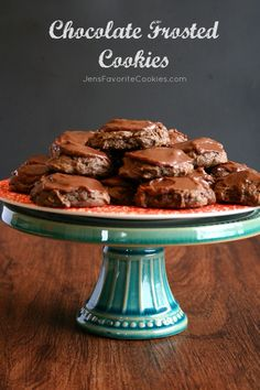 Chocolate Frosted Cookies | Jen's Favorite Cookies | Recipes & Photos