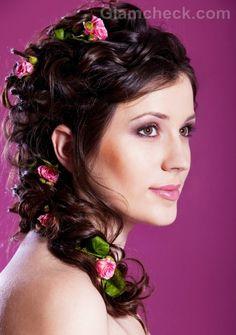 I'd wear flowers in my hair