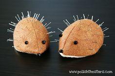 Hedgehog Pincushions