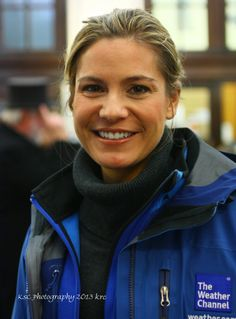 Jen Carfagno from the Weather Channel...