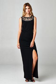Gorgeous and Elegant Black Dress