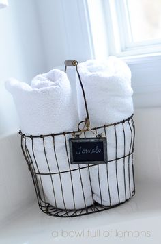 12 Bathroom Organization Ideas - Domestically Speaking