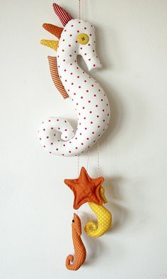 Stephanie, I could make you a pattern for a seahorse!