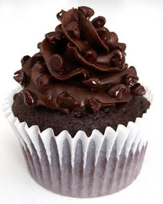 Triple Chocolate Truffle Cupcakes