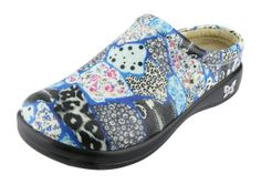 Alegria Kayla Wild Patchwork - on closeout for $69! | Alegria Shoe Shop #AlegriaShoes #Spring #2014 #Closeout #Spring2014 #nursing #nurses