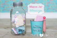Mason Jar Craft: Mason Jar Blessings