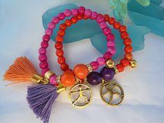 SALE YOGA BRACELETS  Chakra BraceletsMeditation Jewelry by Nezihe1, $14.99