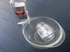 Love reusing glass jars? Use vodka to remove sticky labels. Fill a dish with half an inch of vodka and soak the jar. You'll immediately see the label loosen from the glass. >> http://blog.diynetwork.com/maderemade/2013/07/01/6-handy-household-uses-for-vodka-the-dont-involve-drinking/?soc=pinterest