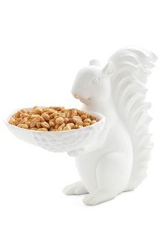 go nuts. squirrel bowl.
