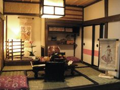 Japanese dollhouse and furniture