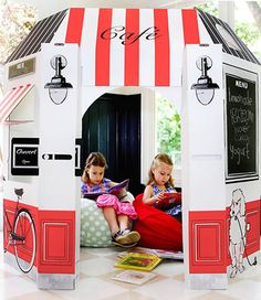 French Cafe play house $79  Totally cute!