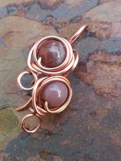 Handmade Copper Bud Earwires in an assorted by PurpleLilyDesigns, $4.20