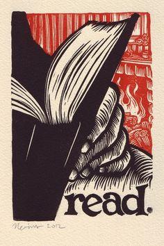 Read  (ilustración de Peter Nevins)