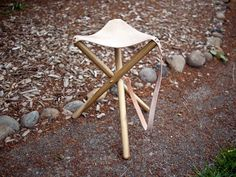 Tripod Camping Stool | 40 DIY Father's Day Gift Ideas
