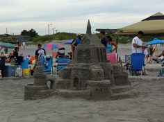 First Place Castle in the Family Category carved by The Dachowski Family