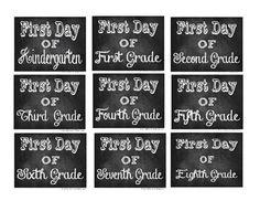 School Day Chalkboard Printable Featured @printabledecor1