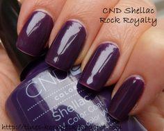 Cnd rock royalty на ногтях