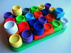 Block towers patterns for preschool *fun way to practice math skills