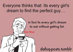 hahaha...sooo true!!! That is my wish!
