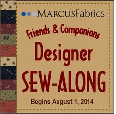 2014 Companions Sew-Along, Starts August 1 for 10 weeks.