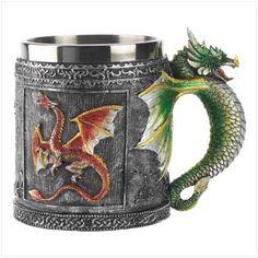 Royal Dragon Mug That I Need!