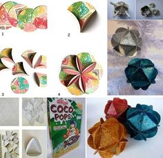 DIY Crafts With Cereal Boxes